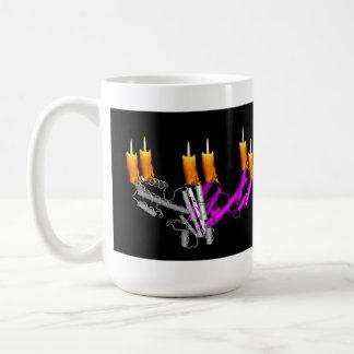 Candelabros de la polimerasa tazas de café