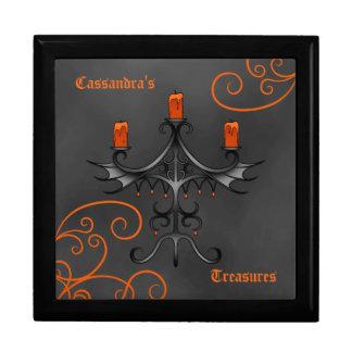 Candelabros góticos Halloween Cajas De Joyas