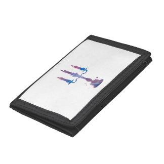 Candelabrum Tri-fold Wallet
