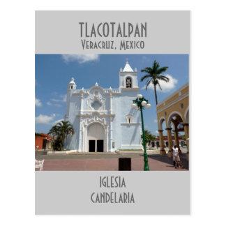 Candelaria Church-Tlacotalpan, Veracruz Postcard