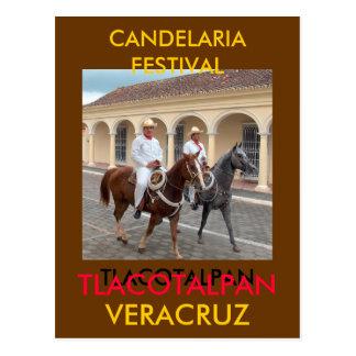 CANDELARIA  FESTIVAL POSTCARD