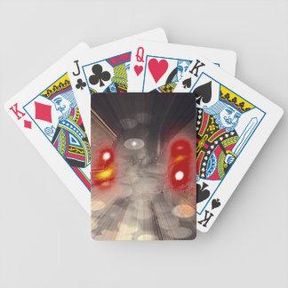 Candelas en el viento baraja cartas de poker