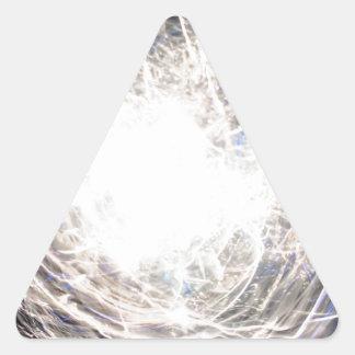 Candente Pegatina Triangular