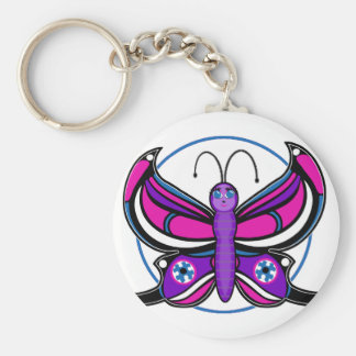Candi Toon Butterfly Keychain