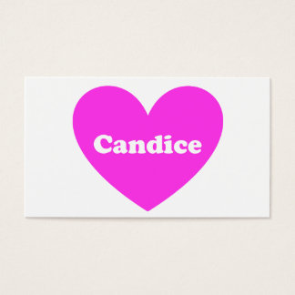 Candice Business Card