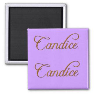 CANDICE Name-Branded Gift Magnet