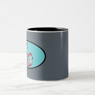 Candid Character Logo Mug