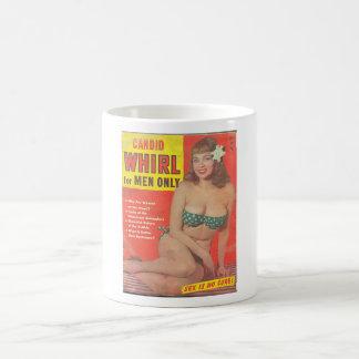 CANDID WHIRL VINTAGE MAGAZINE. COFFEE MUG