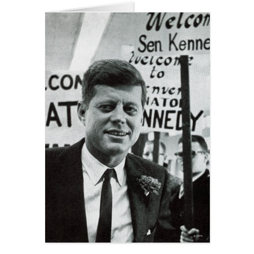 Candidate Kennedy Greeting Cards
