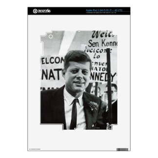 Candidate Kennedy iPad 3 Decals