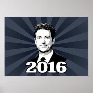 CANDIDATO 2016 DE PAUL DEL RAND PÓSTER