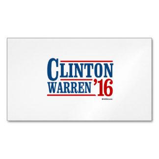 Candidato a la vice-presidencia de Clinton y de Tarjetas De Visita Magnéticas (paquete De 25)