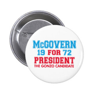 Candidato de McGovern Gonzo Pin