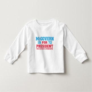 Candidato de McGovern Gonzo Tee Shirt