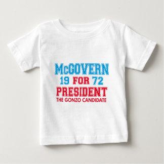 Candidato de McGovern Gonzo T-shirt