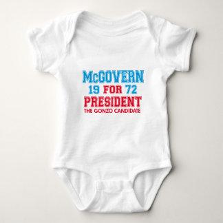 Candidato de McGovern Gonzo Camiseta