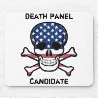 Candidato del panel de la muerte tapetes de raton