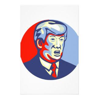 Candidato del republicano de Donald Trump 2016 Papelería Personalizada