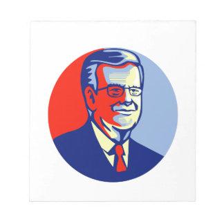 Candidato del republicano de Jeb Bush 2016 Bloc De Notas