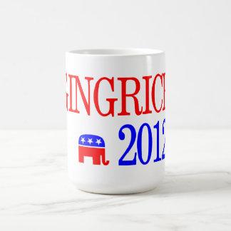 Candidato del republicano de Newt Gingrich 2012 Taza Clásica