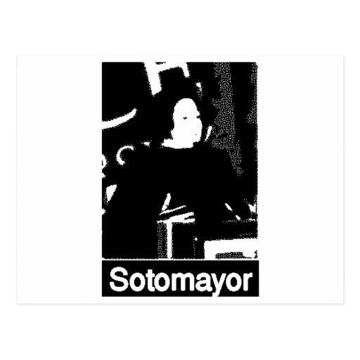 Candidato del Tribunal Supremo de Sonia Sotomayor Postal