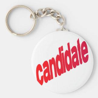 candidato llavero redondo tipo pin