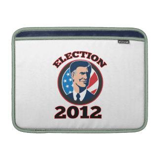 Candidato presidencial americano Mitt Romney retro Funda MacBook