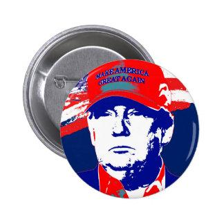 Candidato presidencial de Donald Trump 2016 Pin Redondo De 2 Pulgadas