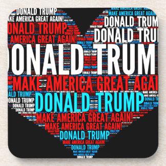 Candidato presidencial de Donald Trump 2016 Posavasos