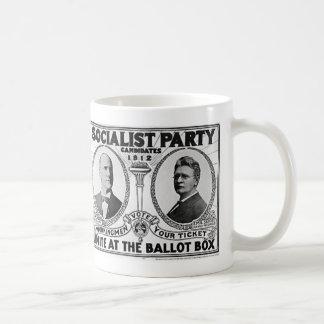 Candidatos 1912 del Partido Socialista Tazas