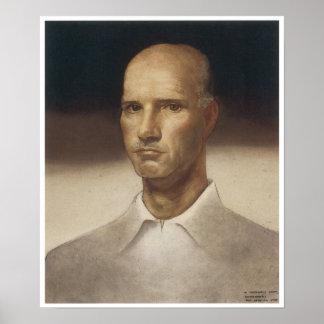 Cándido Portinari, retrato Póster