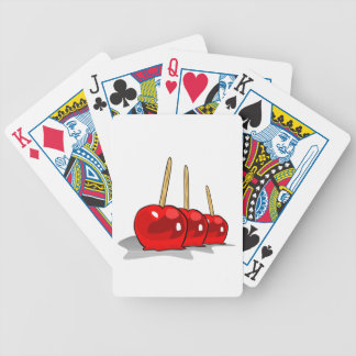 Candied Apples Playing Cards