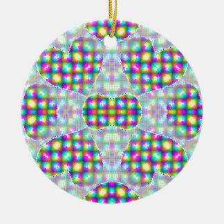 Candied Heart Attack Ceramic Ornament