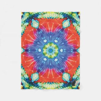 Candied Kaleidoscope Fleece Blanket