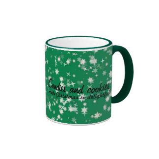 Candies and Cookies Funny Christmas Santa Mug