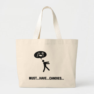 Candies Lover Large Tote Bag