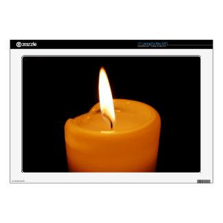 "Candle 17"" Laptop Skins"