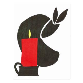 candle-1 postcard
