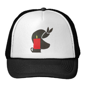 candle-1 trucker hat