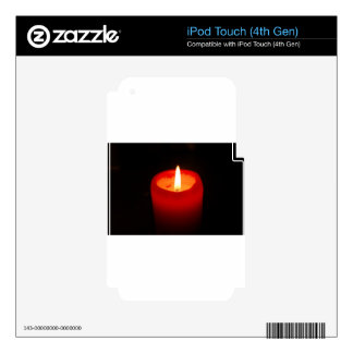 candle-789 iPod touch 4G decal