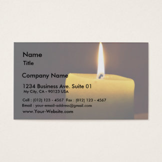 Candle Business Card