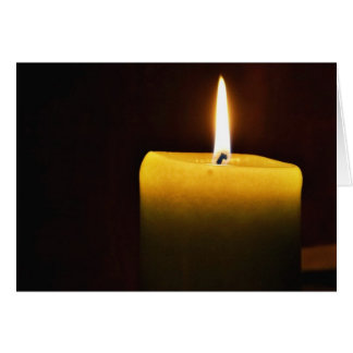 Candle Card