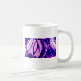 Candle Creation Purple Abstract Classic White Coffee Mug