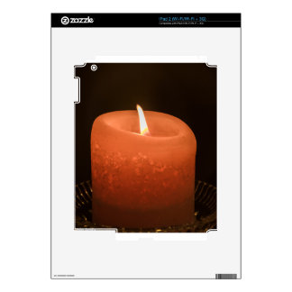 Candle Decal For iPad 2