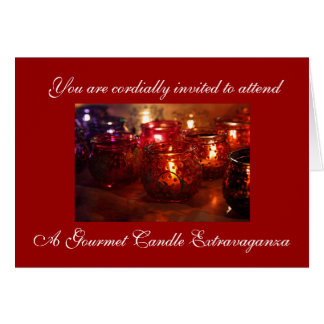 Candle Extravaganza Invitation