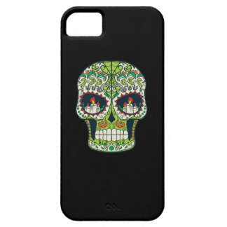 Candle Eyes Tattoo Mexican Sugar Skull iPhone SE/5/5s Case