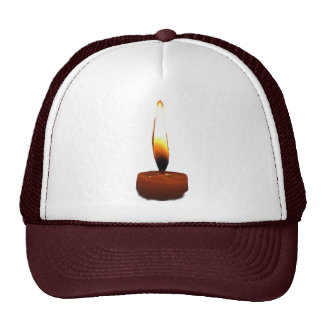 Candle Flame Trucker Hat