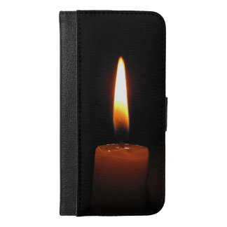 Candle Flame iPhone 6 Plus Wallet Case