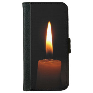 Candle Flame iPhone 6 Wallet Case