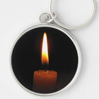 Candle Flame Keychain